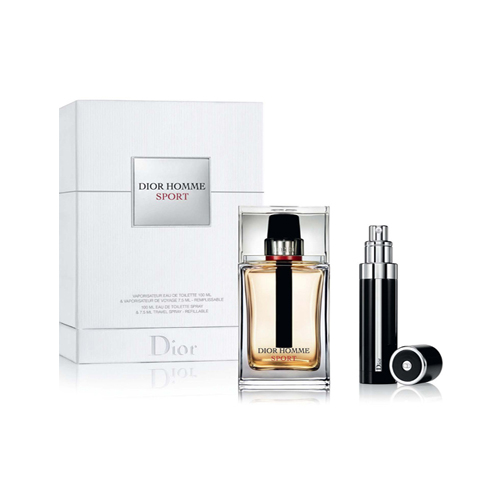 fragrances men dior homme sport eau de toilette travel set. Black Bedroom Furniture Sets. Home Design Ideas